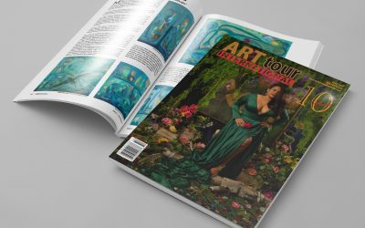 ArtTour International Magazine – Winter Issue is launched where Kari Veastad is one of the artists 😊